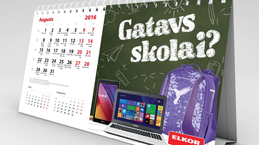 Kalendāri 2017 kalendāru izgatavošana